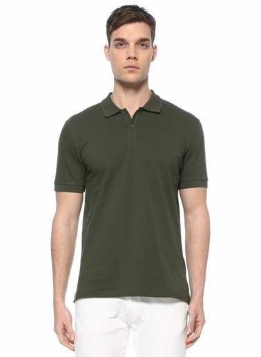 Beymen Collection Beymen Collection  Polo Yaka T-shirt 101580032 Yeşil